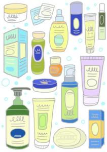 化粧品でお肌のスキンケア